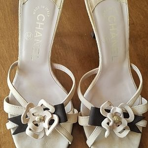Chanel mules sandals
